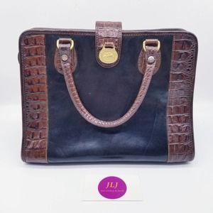Brahmin Vintage Alligator Handbag Leather Purse